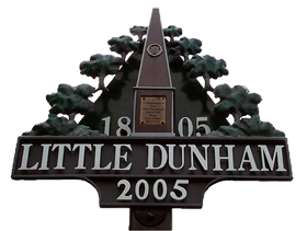 Little Dunham Village Sign